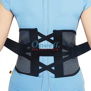 【oswell】S-53A省力型三叉式護腰-加大版(固定肌肉拉傷或韌帶扭傷)
