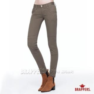【BRAPPERS】女款 LC Cargo系列-中低腰彈性AB褲(綠)