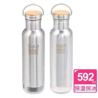 【Klean Kanteen】竹片鋼蓋保溫瓶(592ml)