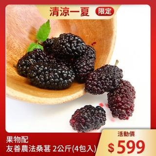 【果物配】手摘桑葚(友善農法2.4公斤)