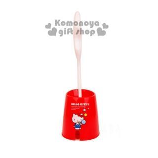 〔小禮堂〕Hello Kitty 牙刷杯架《粉白.大臉.緞帶蝴蝶結》可掛2支牙刷