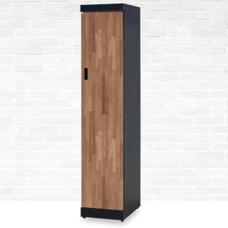 【時尚屋】本森積層木1.3尺單門衣櫥 G18-098-3(免運費 免組裝 臥室系列 衣櫥)