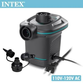 【INTEX】110V家用電動充氣幫浦_充洩二用(66639)