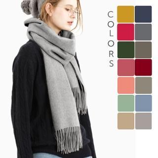 【5TH AVE】100 % 純羊毛 秋冬圍巾(快速到貨)