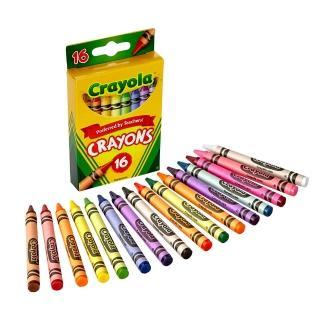 【crayola 繪兒樂】彩色蠟筆16色
