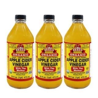 【BRAGG】有機蘋果醋(473ml*3入)