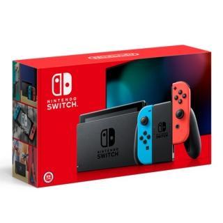 【Nintendo 任天堂】Switch紅藍主機 電量加長型(台灣公司貨)