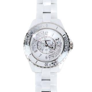 【CHANEL 香奈兒】J12.20 限量20週年紀念腕錶(33毫米)