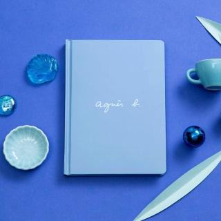 【agnes b.】筆記本-藍