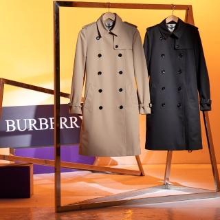 英國BURBERRY經典長版風衣外套