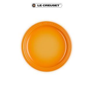 【Le Creuset】瓷器圓盤19cm(初花)