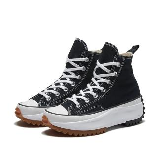 【CONVERSE】RUN STAR HIKE HI 高筒 厚底 休閒鞋 男女 黑(166800C)