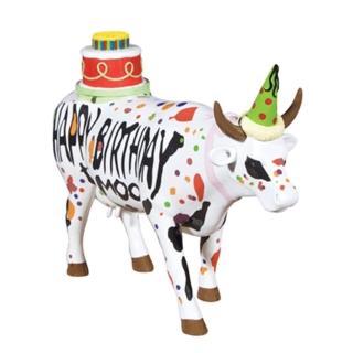 【富邦藝術基金會】2021限量藝術牛:祝你生日快樂 大型(CowParade 牛年 過年 送禮)