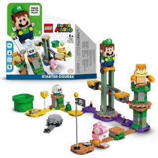 【LEGO 樂高】超級瑪利歐系列 路易吉冒險主機 71387 瑪利歐 任天堂(71387)