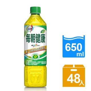 VIP【每朝健康】綠茶650ml 24入x2箱(共48入)