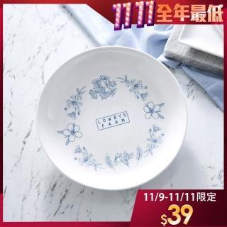 【LOWRYS FARM】午後花園陶瓷盤