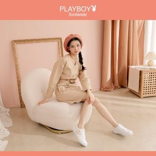 【PLAYBOY】百搭舒適休閒懶人鞋